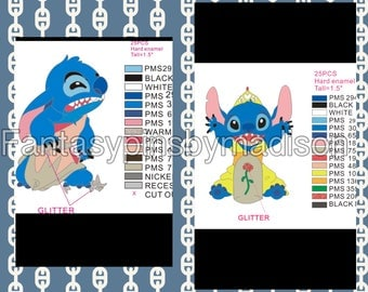 PRE SALE!! Stitch as Princesses - L.E. 25 Each
