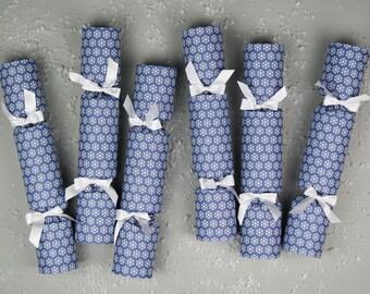 Snowflake Luxury Christmas Crackers