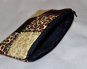Quilted Wallet/Coin Pouch