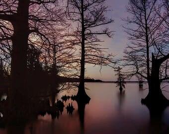 Sunset at Reelfoot Lake