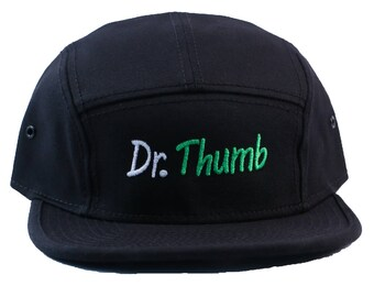 DR. Green Thumb Embroidered Camper Style Hat