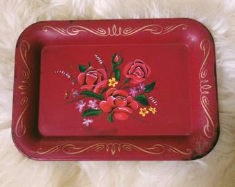 Vintage Jewelry Tray, Vintage Ring Dish