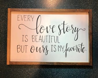 Every love store is beautiful sign