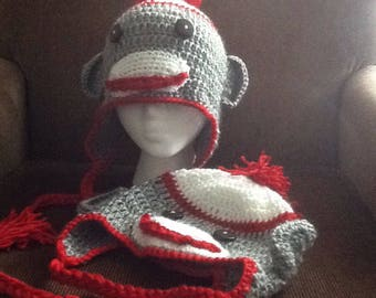 Sock monkey hats