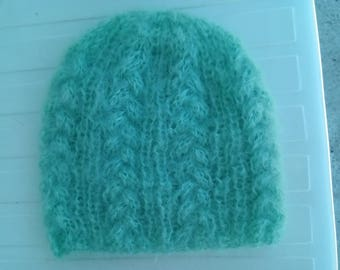 Mohair wool hat
