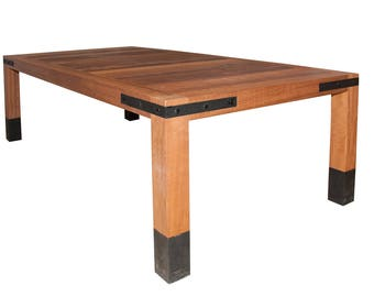 Table rustic Iroko 220 x 110