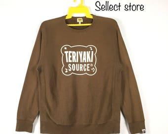Free Shipping Vintage 90s BATHING APE sweatshirt