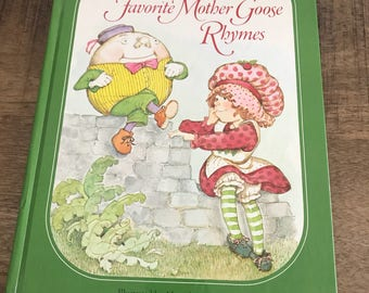 Strawberry Shortcakes Favorite Mother Goose Rhymes Childrens Book