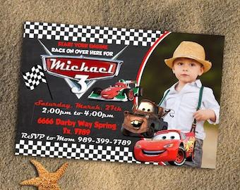 Disney Cars,Cars Invitation,Cars Birthday Invitation,Disney Cars Invitation,Cars Birthday,Cars Birthday Party,Cars 3,Cars 3 Invitation