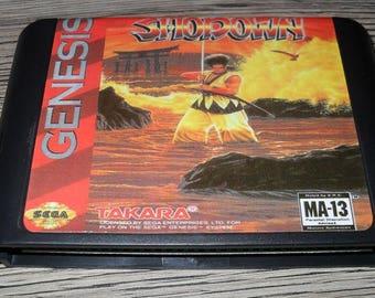 Game Megadrive Mega Drive Genesis: Samurai Shodown (Samurai Spirits) customized