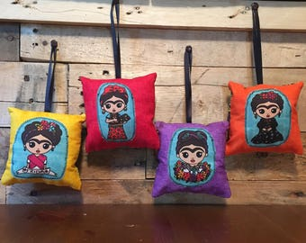 Frida Pillow Ornament