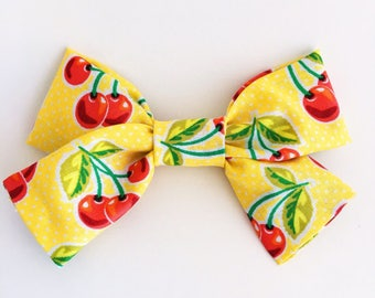 Sweet Little Cherries Bow