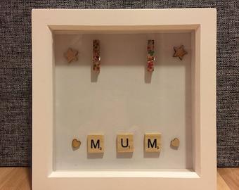 Scrabble Mum Photoframe