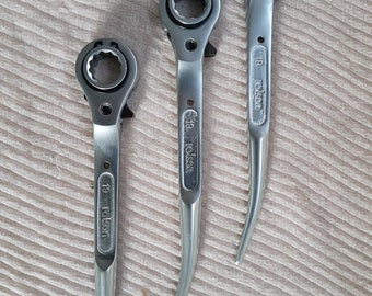 Scaffolding 1 Spanner Ratchet Podger 19/21 mm  2 Ways Top Quality Heavy Duty Tools Best Price UK Sales Offer