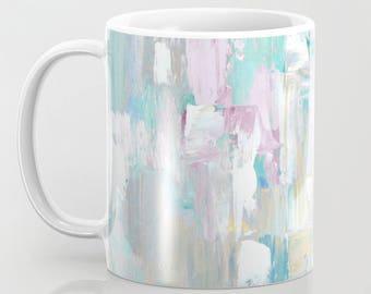 Coffee Mugs, Mugs printed original abstract art, Ceramic Mugs