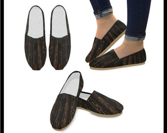 Bamboo Forest Fire Casual Shoes for Women