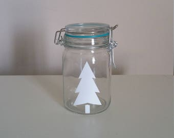 Pine Tree Stash Jar