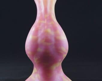 Medium Anole (Pink/Yellow Marble)