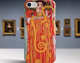 "Gustav Klimt, ""Medicine"". iPhone 8 Case Art iPhone 7 Case iPhone 6 Plus Case and more. iPhone 8 TOUGH cases. Art iphone cases."
