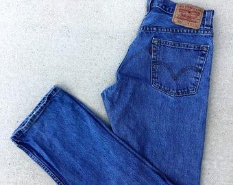 Vintage High Rise 505 Levi's Mom Jeans
