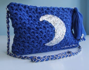 Clutch Luna blue