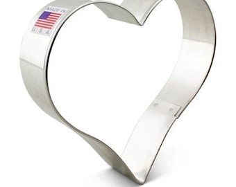 Large Heart Cookie Cutter