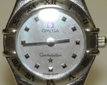 Omega Constellation Womans Stainless Steel