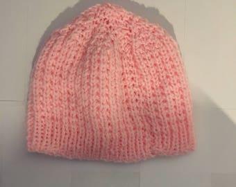 Bubblegum Pink Skull Cap