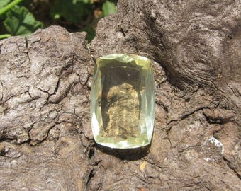 Lemon Quartz Faceted. S0129
