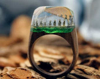 "Ring ""Easter Island"""