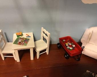 Dollhouse Miniature Alphabet Blocks 1:12 Scale