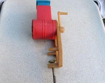 Old Vintage plastic grinder for nuts signed 1983