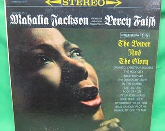 Mahalia Jackson, Percy Faith - The Power and the Glory LP