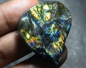 Natural Labradorite Cabochon,Spectrolite Labradorite, multi Flash Labradorite Gemstone druzy,labradorite for pendant loose stone 95.9 mgj247