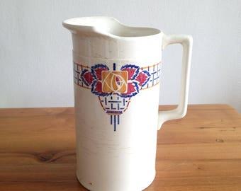 France ceramic jug pitcher jug