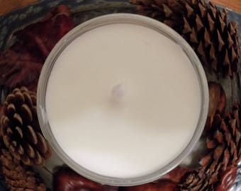 Grapefruit scented 6 oz soy candle