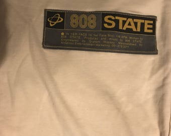 808 state in your face original promotional t shirt
