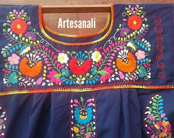 Mexican Embroidered dress SIZE XL