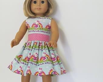 Hello Kitty Dress   American Girl Doll