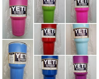 30oz. Yeti Tumbler Various Colors