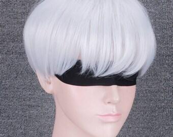 NieR:Automata 9s Cosplay wig Full Hair