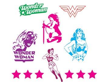WONDER WOMAN SVG bundle