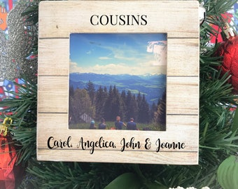 Personalized Cousins Ornament Christmas Ornament Gift Ornament Gift for CousinsChristmas Gift Ornament