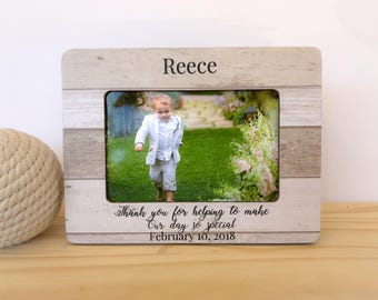 Ring Bearer Frame Ring Bearer Gift Thank You Gift for Ring Bearer