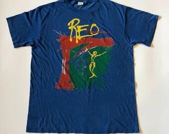Vintage 1987 Reo Speedwargon T-shirt