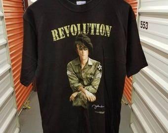 "Vintage Original 1998 The Beatles John Lennon ""Revolution"" T-Shirt. Men's Size Large"