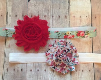 Baby headband, Baby headband with flower, Baby Bows