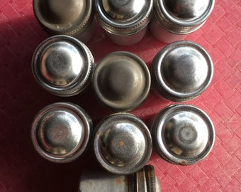 Lot of 10 Metal Film Canister