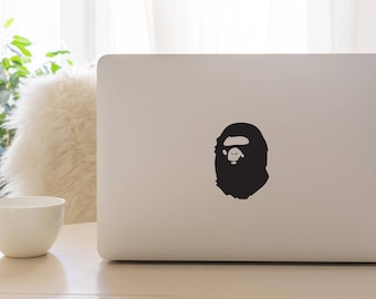 Bape/ Bathing Ape/ Apple Macbook Laptop Vinyl Sticker Decal