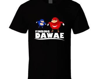 Finding Da Wae Shirt - Ugandan Knuckles